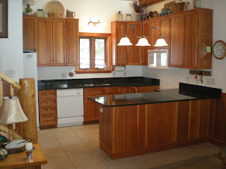 Ely minnesota cabine, granite countertops