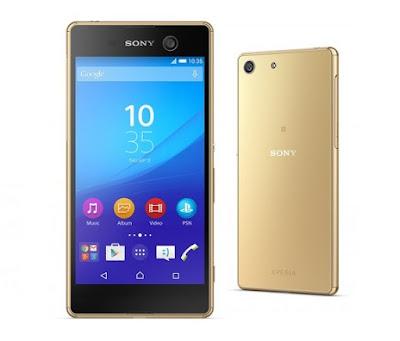Spesifikasi Hape Sony Xperia M5 Sangat Mumpuni
