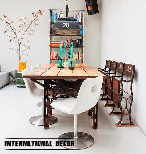 How to decorate your home with recycled furniture