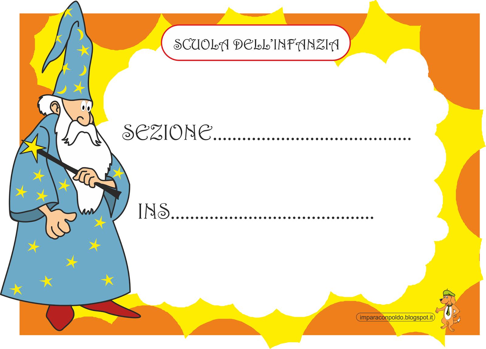A scuola con poldo cartelli per la classe for Cartelloni di natale per la scuola dell infanzia
