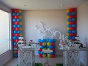 Decoração com Balão Toy Story