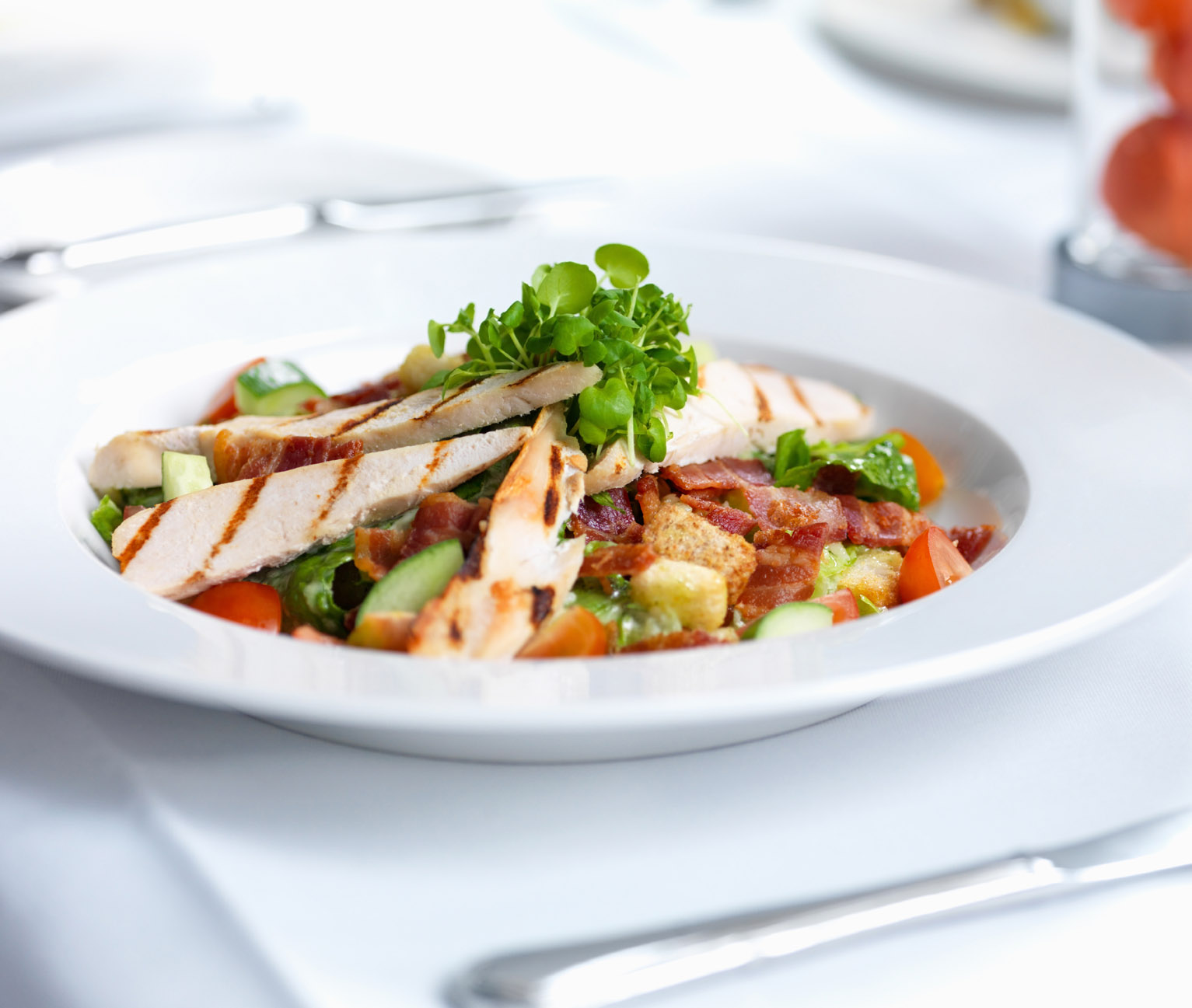 Is to enjoy your food eat less of the foods mentioned above and eat