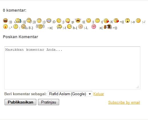 cara mendapatkan banyak komentar pada blog