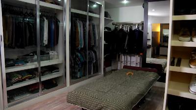 Sam Milby's Walk-in Closet