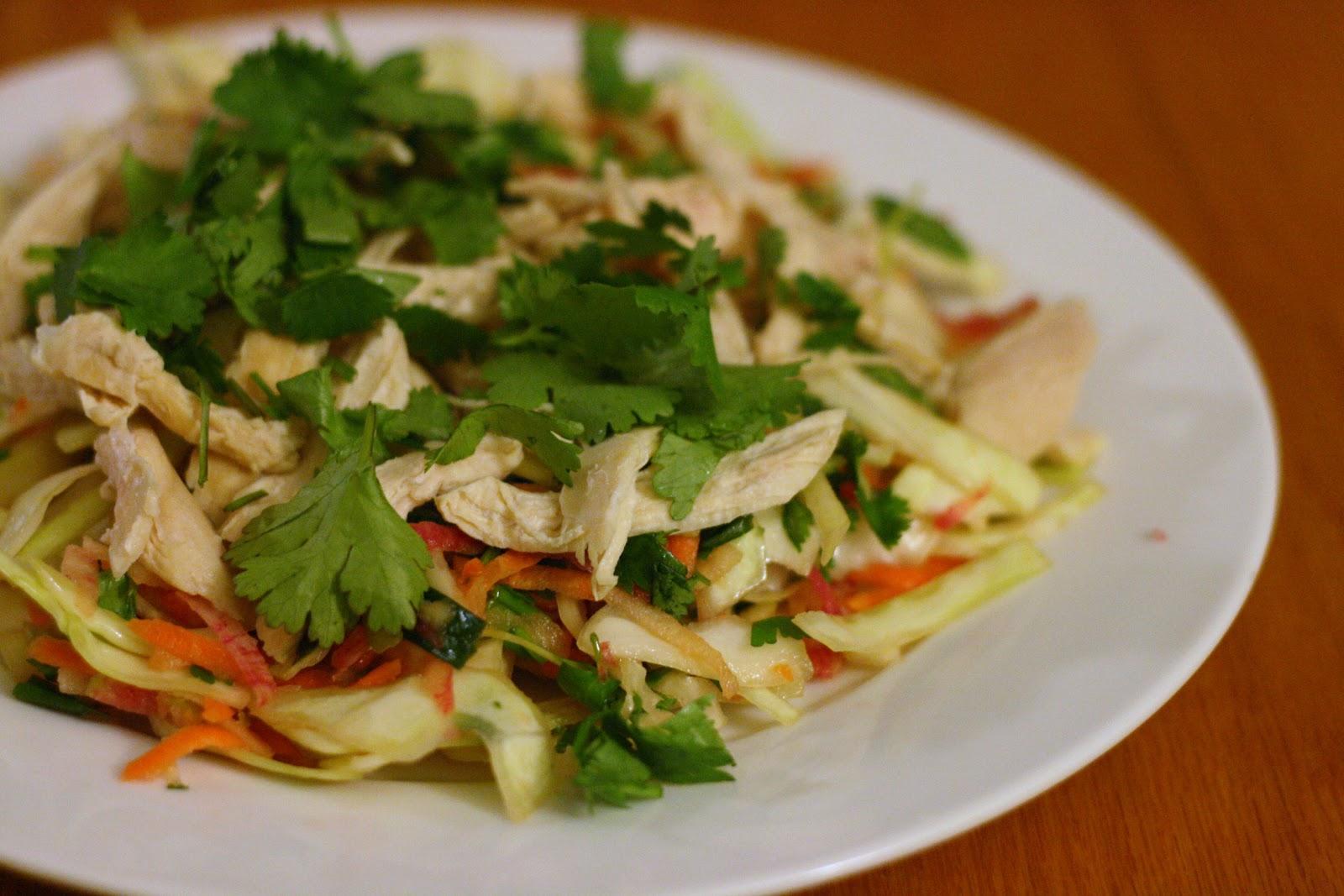 Laine's Recipe Box: Vietnamese Cabbage-and-Chicken Salad