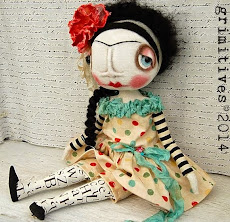Polka Dot Frida with tattoo legs