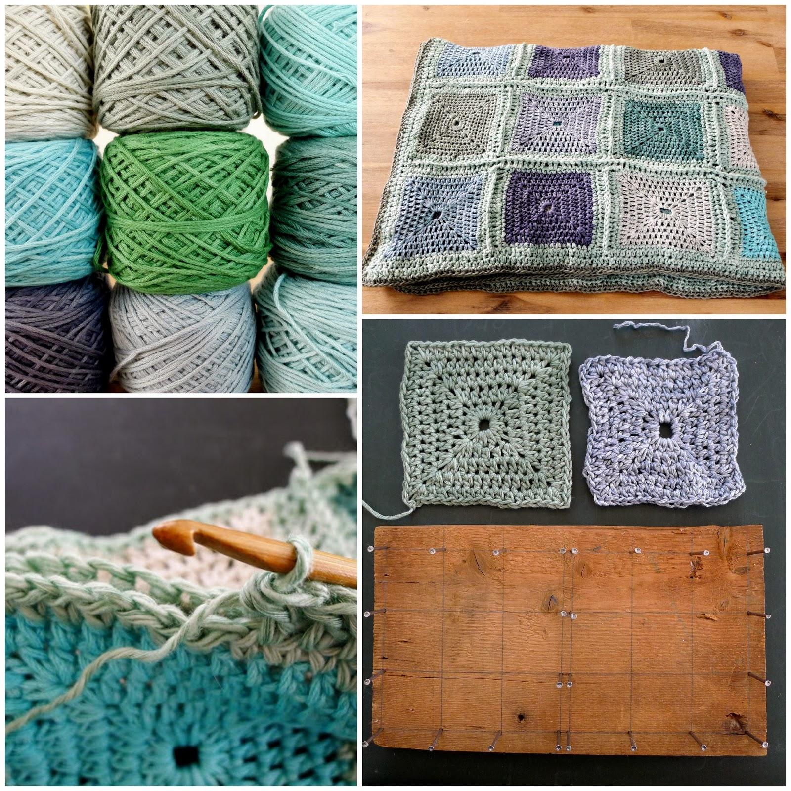 Elize Shawl 2. Placemat 3. Shell Crochet Scarf 4. Mandala