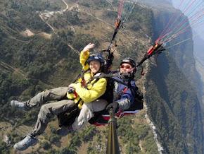 Paragliding Pokhara,Nepal