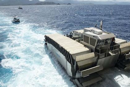 Marinir Amerika Perkenalkan Kendaraan Amfibi Terbarunya