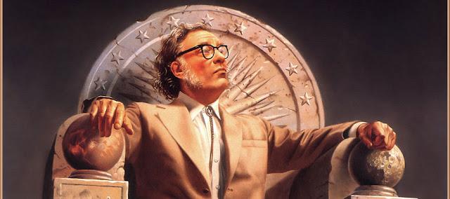 """Isaac Asimov, escritor del libro """"Yo, robot"""""""