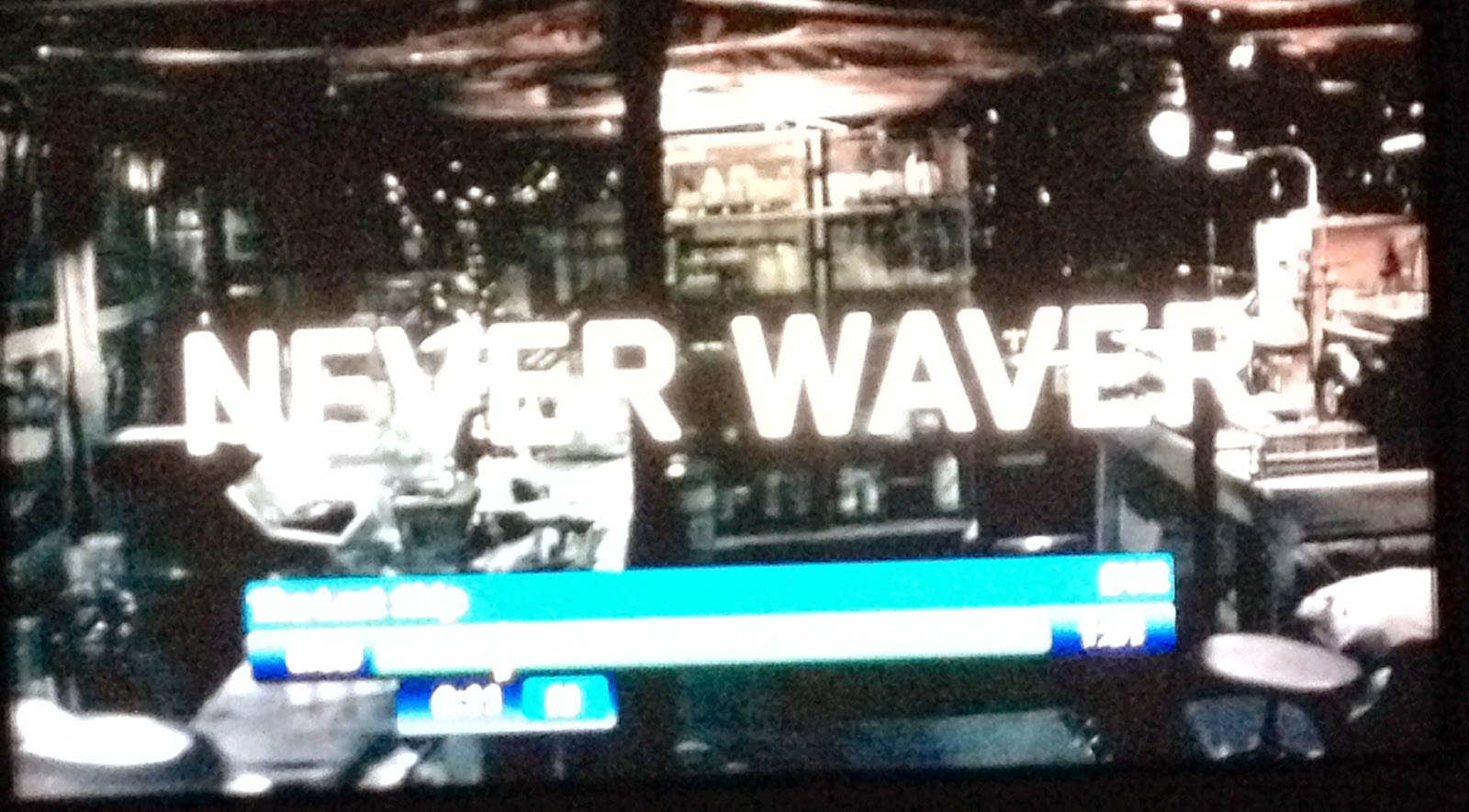'Never Waver' instead of 'Waiver' on TNT promo for The Last Ship