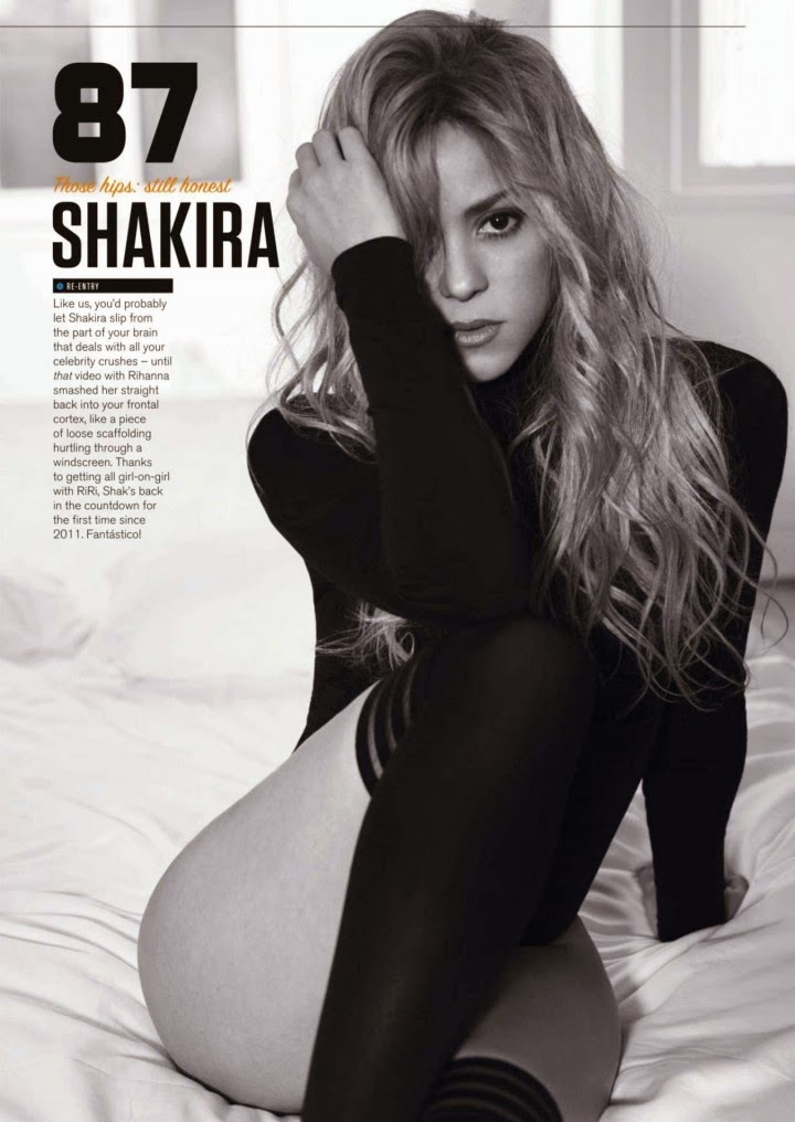 Shakira for Cosmopolitan Argentina Magazine (August 2014) Issue