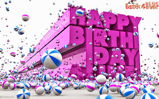 Happy Birthday Messages With 3D Wallpaper By Bank4ever blog