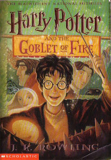 Book cover: Harry Potter and the Goblet of Fire by J.K. Rowling