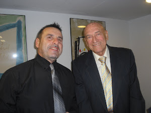 Con Jaime Vandor, escritor humanista.