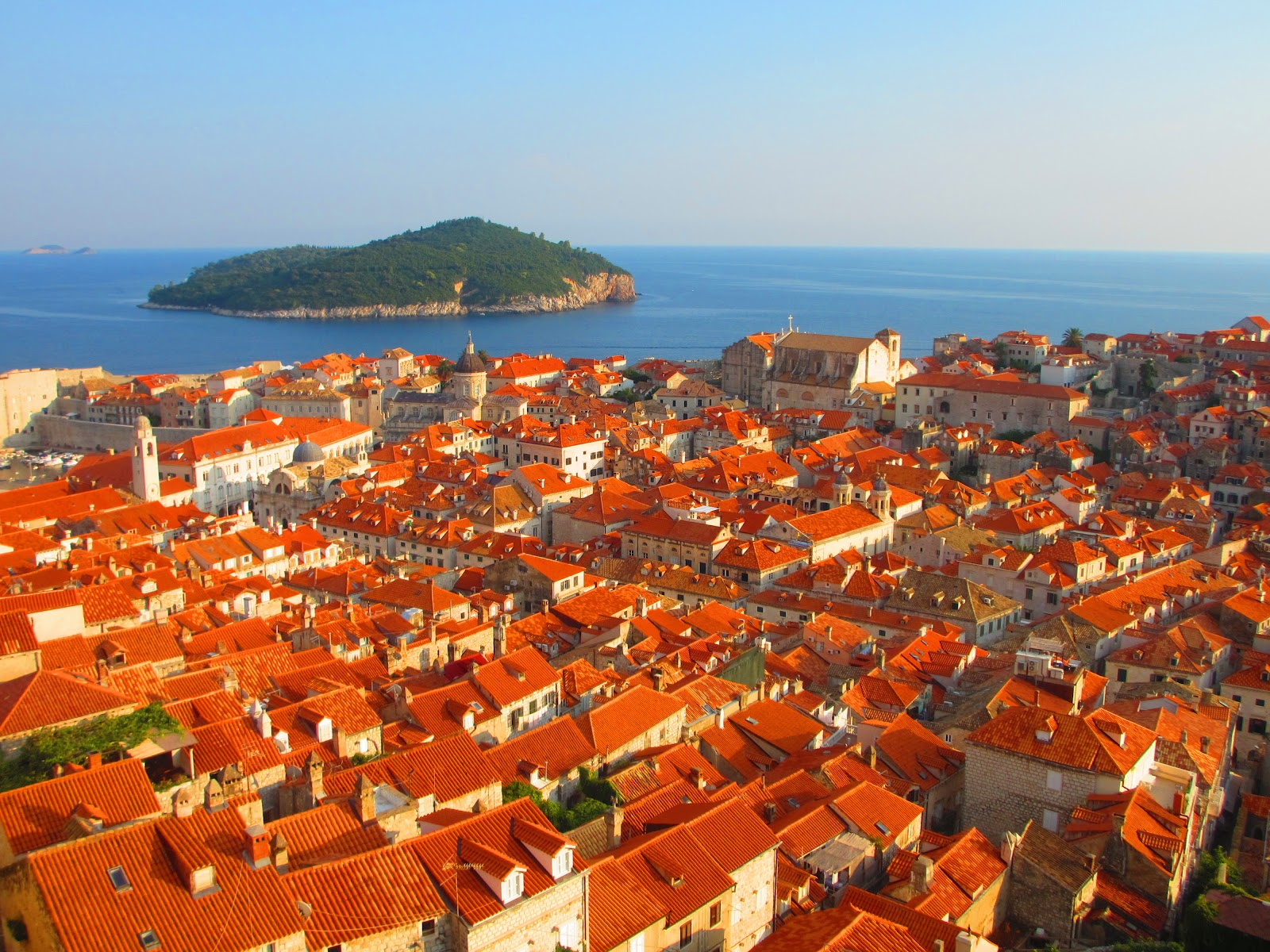 Dubrovnik Is Almost As Well Known For Its Red Roofs As Its Walls And  Seaside Setting.