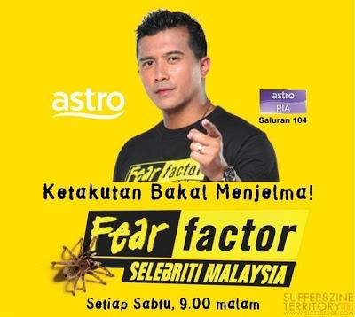 Fear Factor Selebriti Malaysia 2 2014