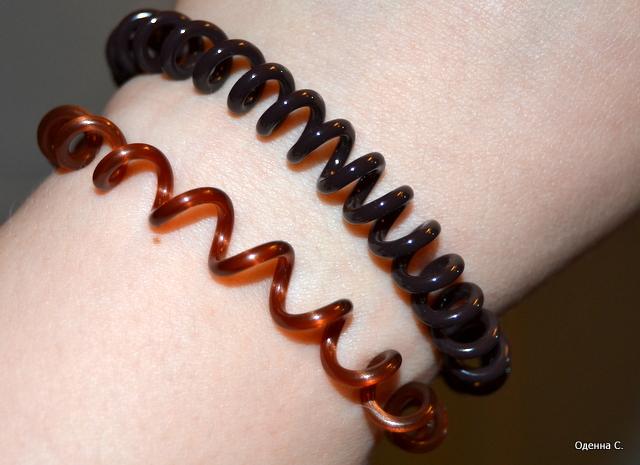 Спиралевидные браслеты