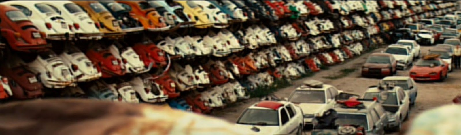just a car guy a vw bug graveyard in the mel gibson movie