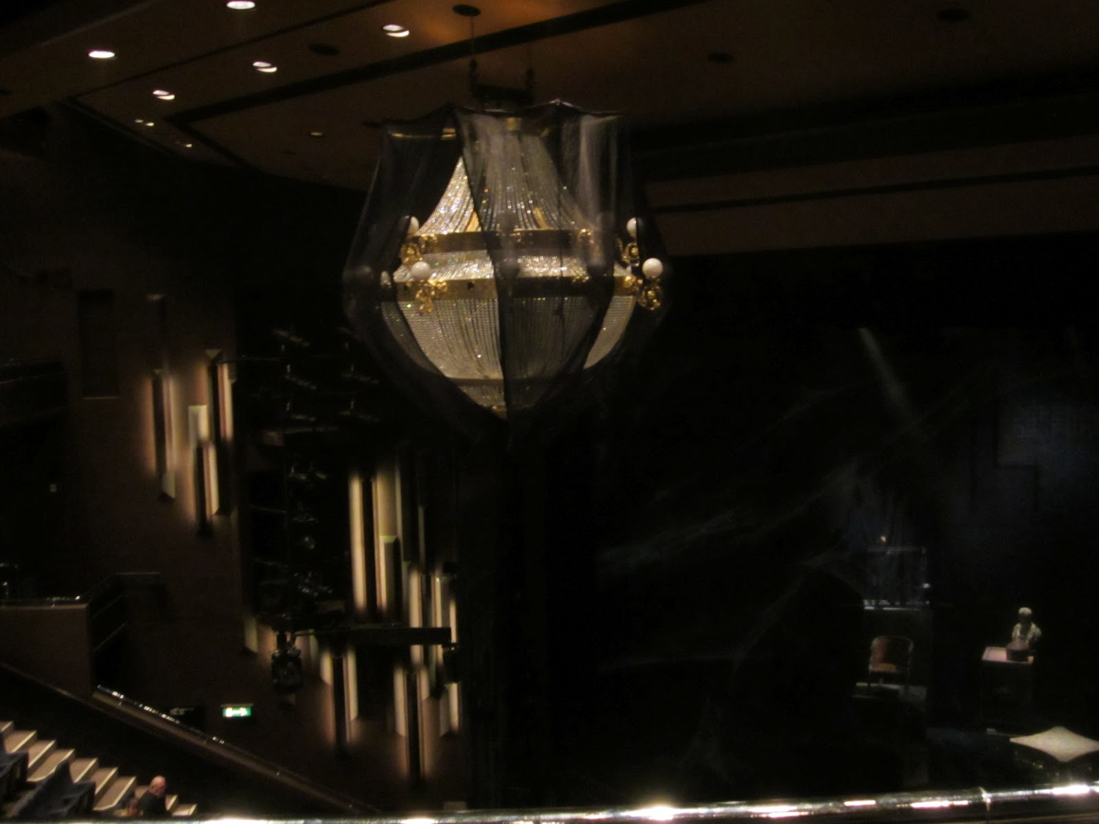 As You Can See From The Picture Of Chandelier Set Design Is Slightly Diffe Not Well Covered But Ushers Weren T Shouting