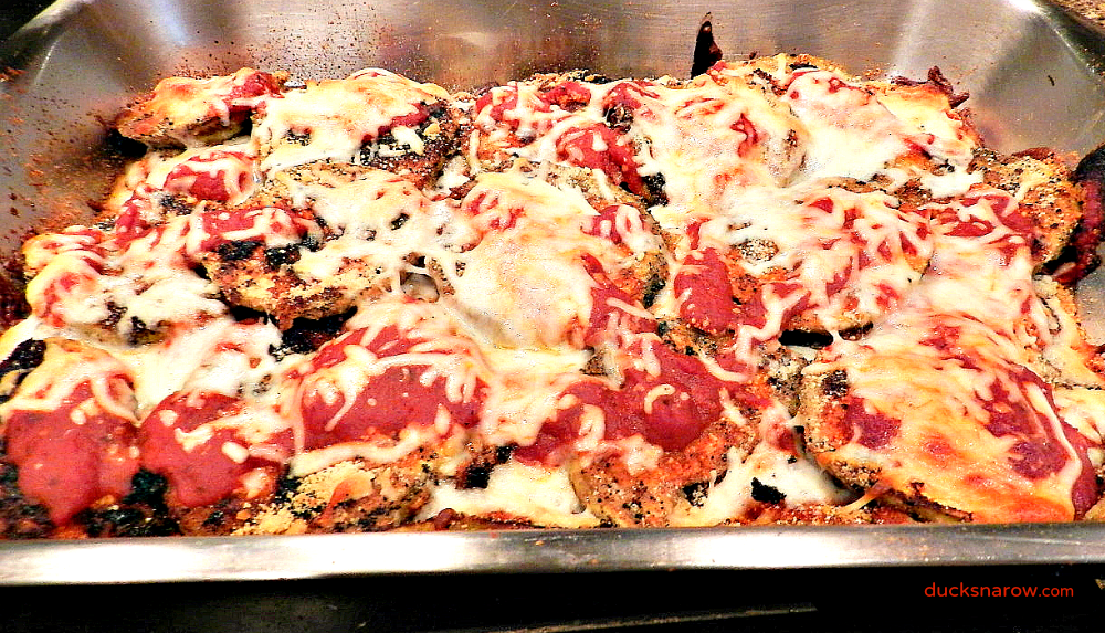 eggplant recipes, Italian food, www.ducksnarow.com