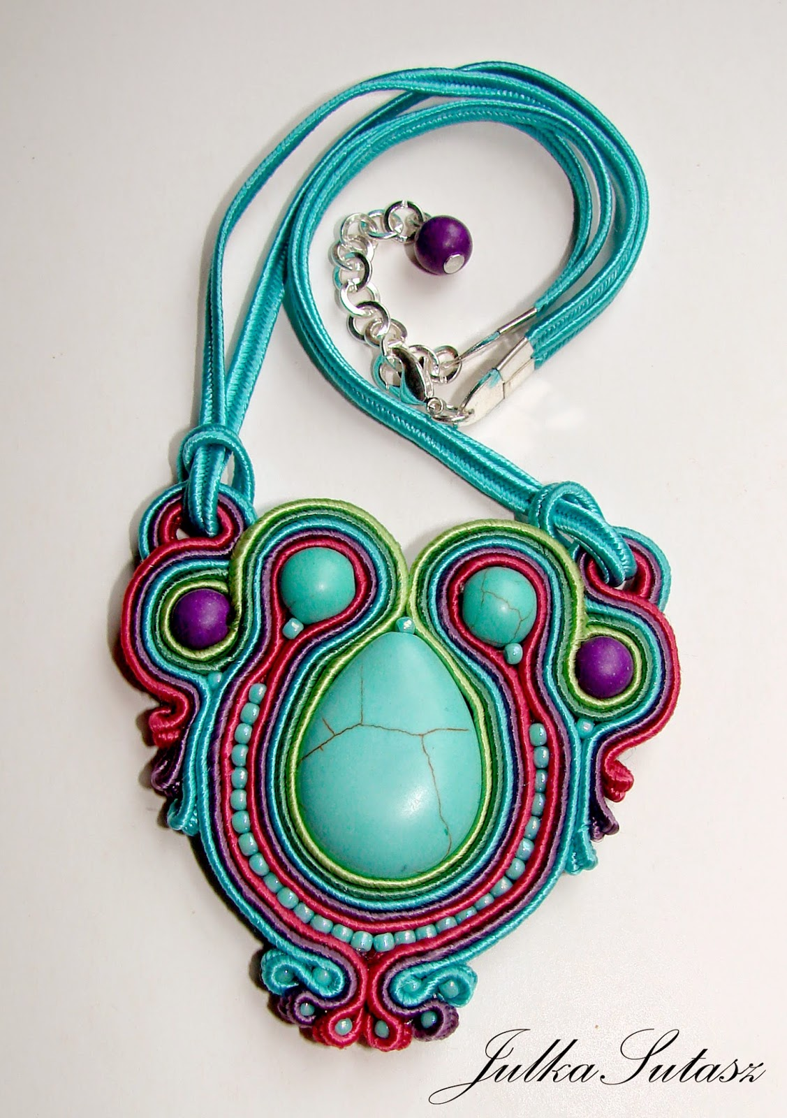 Turquoise necklace for my goddaughter