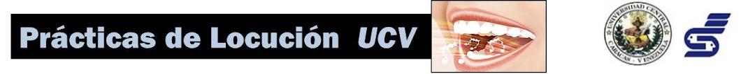 Prácticas de Locución UCV