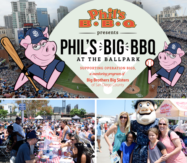Win Tickets To Phil's Big BBQ at the Ballpark - Sunday, July 30!