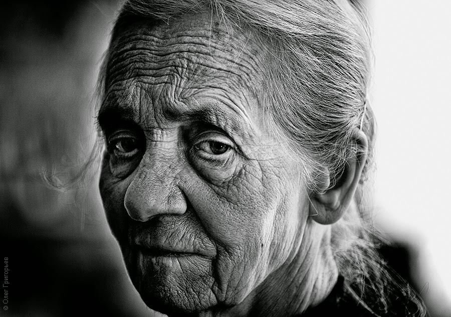 Одинокие пожилые люди
