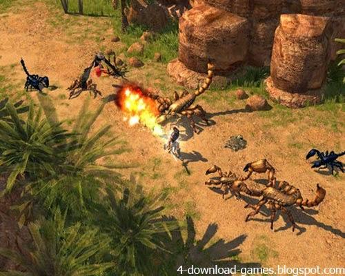 تحميل لعبة الاكشن Titan Quest للكمبيوتر