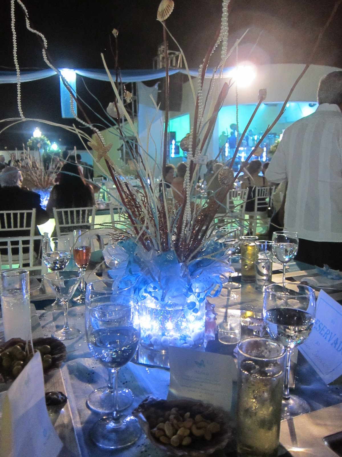 Music themed wedding centerpiece or party table lighted - Quinceanera Table Centerpieces Ideas Car Interior Design