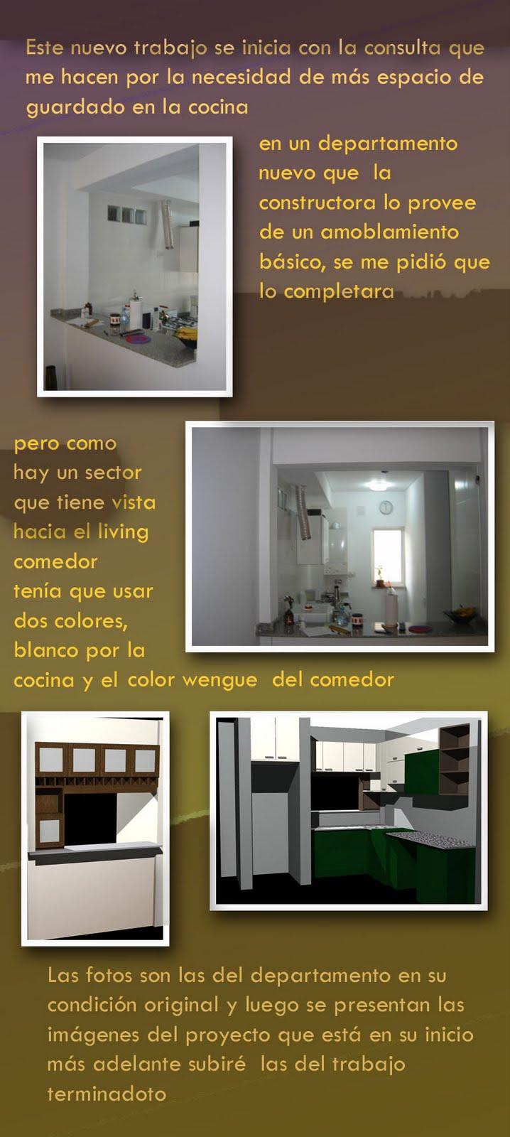 Proyecto completar muebles de cocina la carpinteria de for Proyecto muebles de cocina