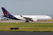 Today the first Brussels Airlines A330200 departed after being painted by . (hb iqaash)
