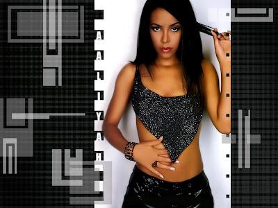 model Aaliyah Wallpapers