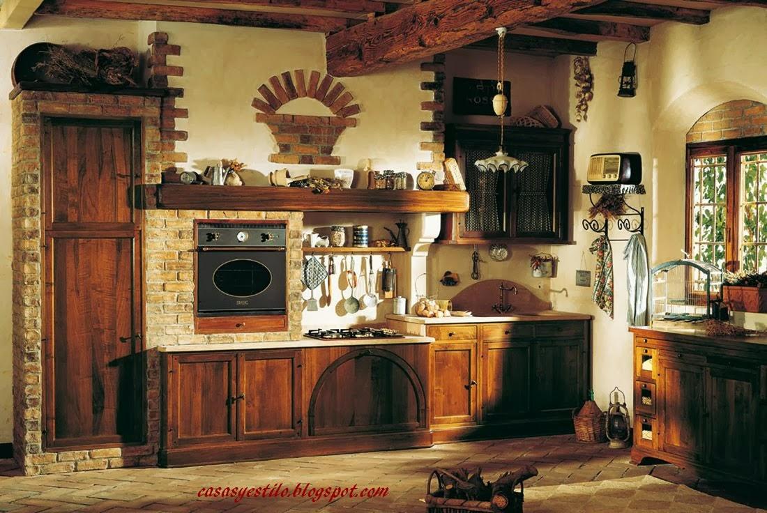 Casas de campo interiores casas y estilo - Casas antiguas por dentro ...