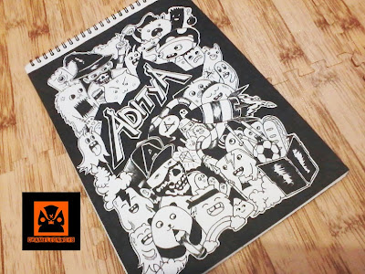 commission doodle art by Chameleonboys a.k.a ANGGITA BAYU