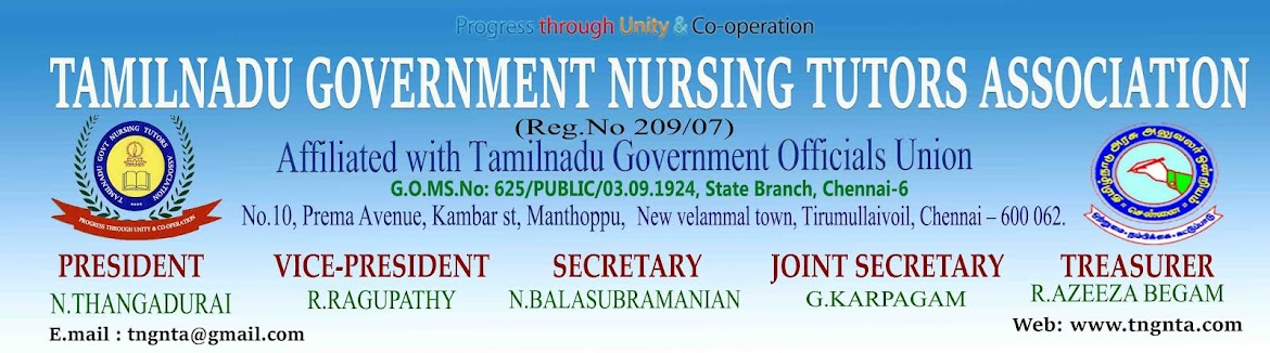 Tamilnadu Government Nursing Tutors Association