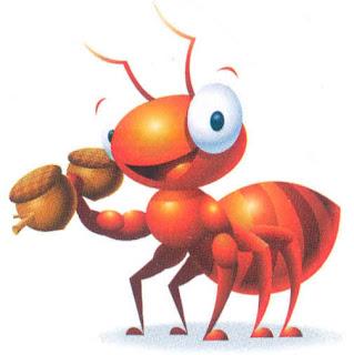 A cigarra e as duas formigas, fábula infantil de Monteiro Lobato