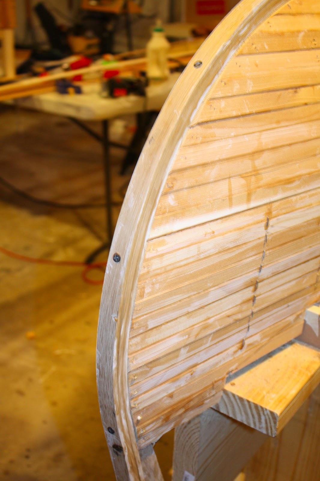 Cedar Strip Canoe 2013 03 17