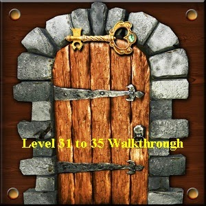 100 Doors Brain Teasers Level 31 32 33 34 35 Hints