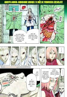 Naruto Gaiden 07 Mangá (capítulo 700.07) portugues leitura online