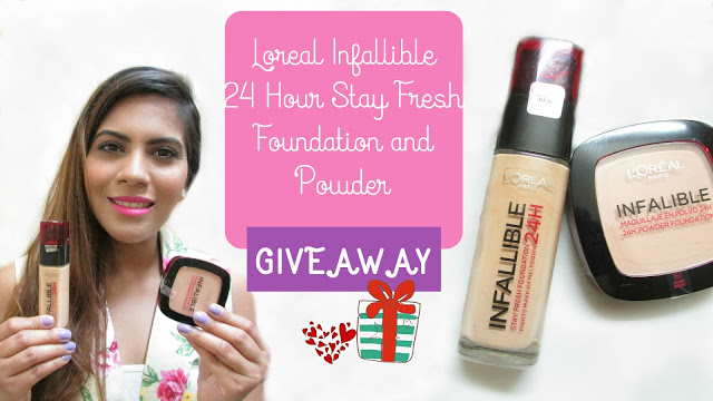 delhi blogger, free makeup, free makeup online, giveaway, international giveaway, loreal foundation powder giveaway, Loreal Infallible 24 Hour Stay Fresh Foundation Powder Giveaway, makeup giveaway, beauty , fashion,beauty and fashion,beauty blog, fashion blog , indian beauty blog,indian fashion blog, beauty and fashion blog, indian beauty and fashion blog, indian bloggers, indian beauty bloggers, indian fashion bloggers,indian bloggers online, top 10 indian bloggers, top indian bloggers,top 10 fashion bloggers, indian bloggers on blogspot,home remedies, how to