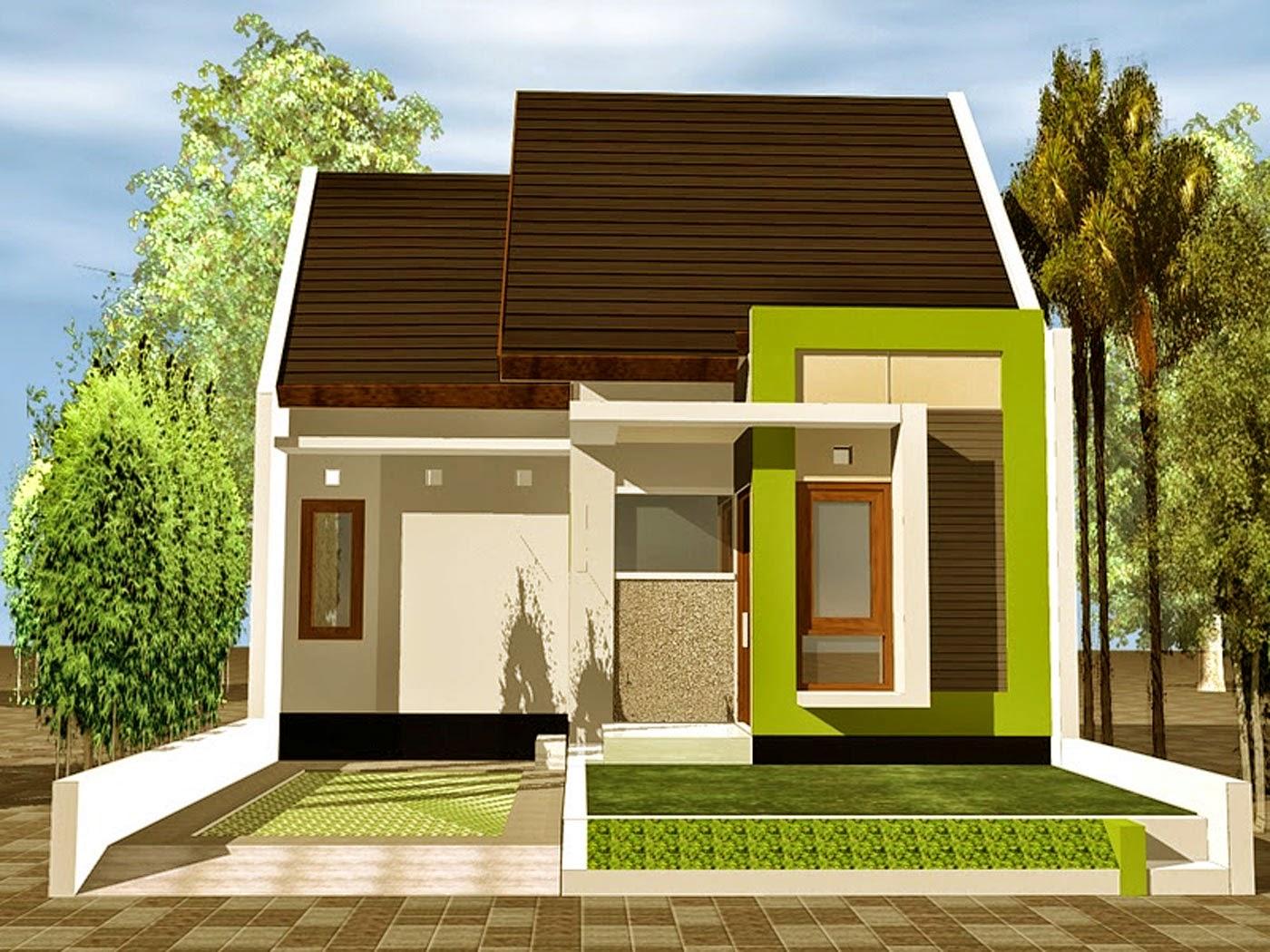 contoh desain rumah minimalis type 54
