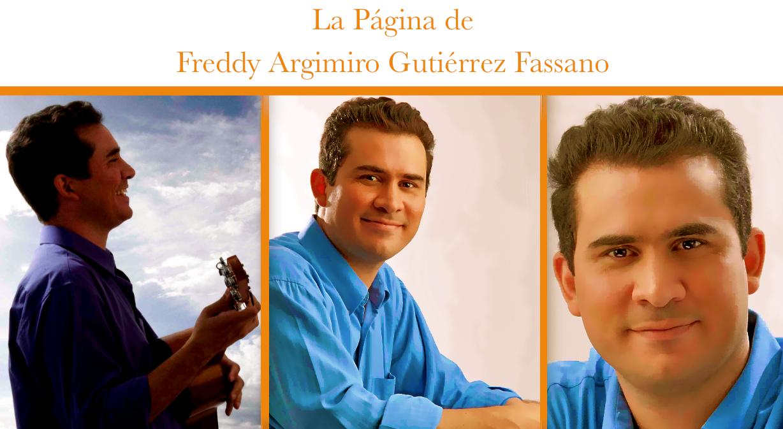La página de Freddy Argimiro Gutiérrez Fassano