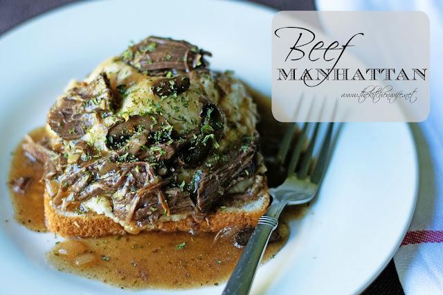 Beef Manhattan