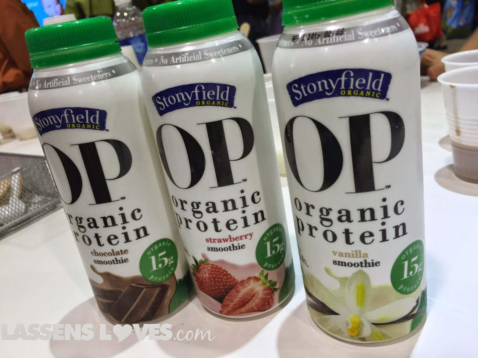 Expo+West+2015, Natural+Foods+Show, New+Natural+Products, stonyfield+o+p, organic+protein+smoothie, O+P+Smoothie