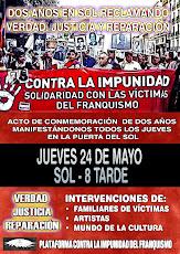 PUERTA DEL SOL - 24 de MAYO - 20:00 h
