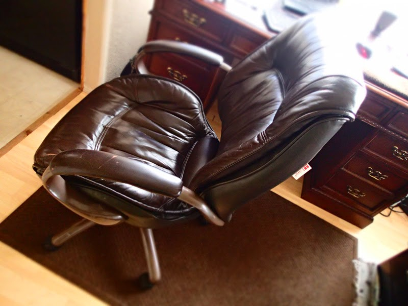 lane leather office chair - now in oak harbor | friday harbor