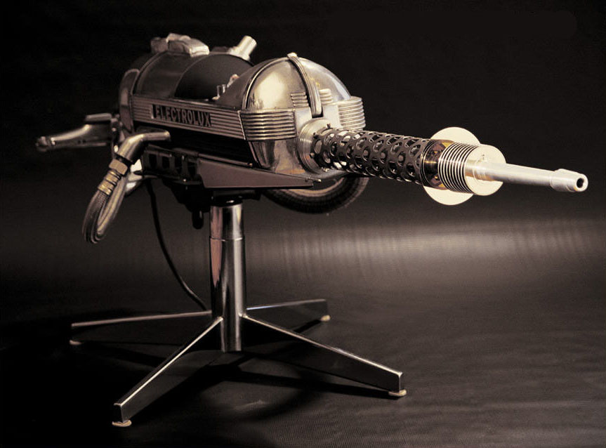 Electrolux Death Ray sculpture by Greg Brotherton - www.brotron.com