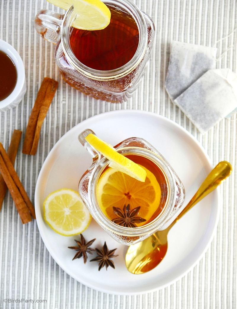 Recette | Hot Toddy (Grog) Earl Grey Épicé - BirdsParty.fr